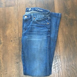 7 For All Mankind A Pocket Flare leg jeans 27x32